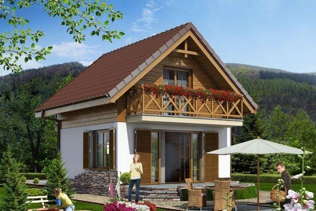 Проект дома-129