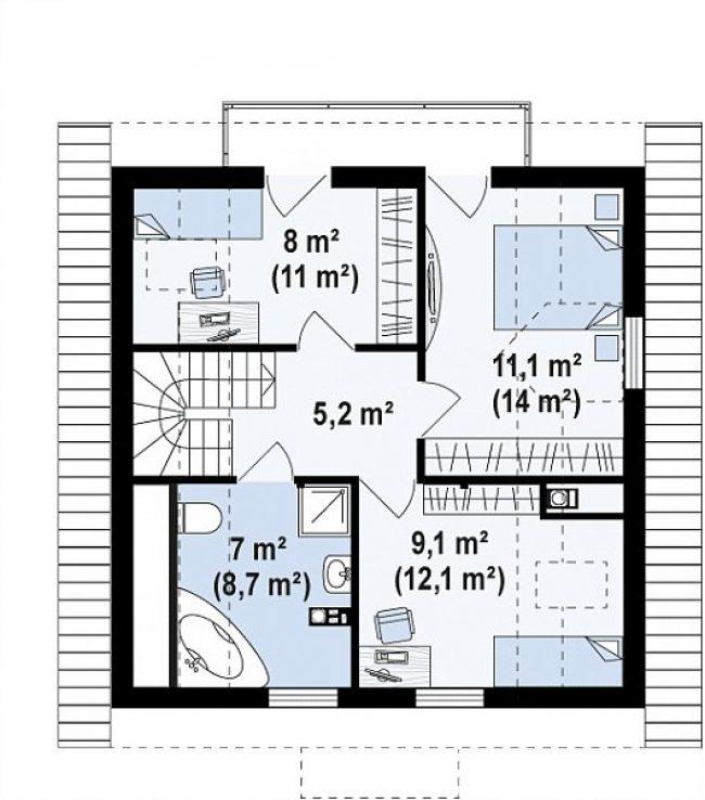 Проект дома-280