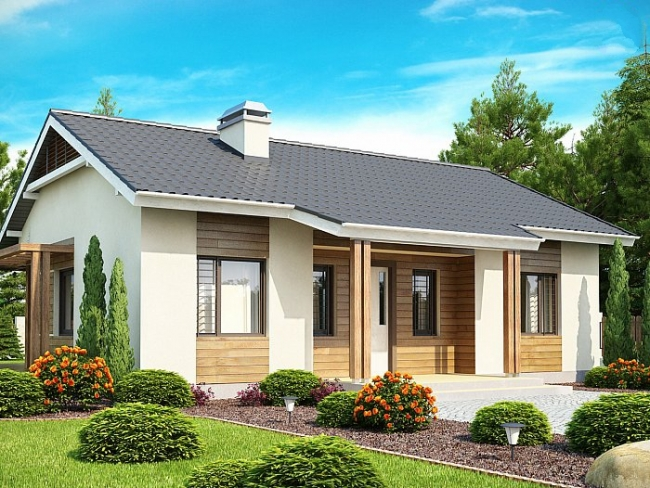Проект дома-455