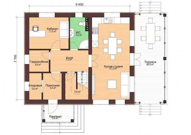 Проект дома-18