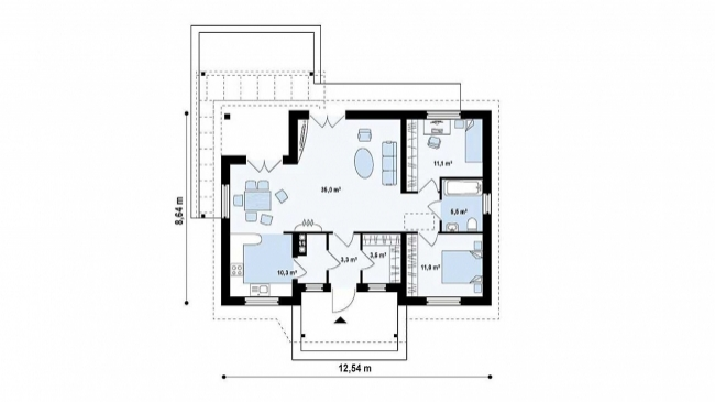 Проект дома-42