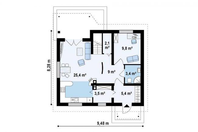 Проект дома-30