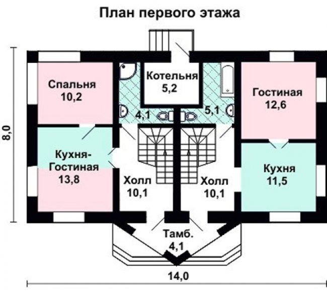 Проект дома-429