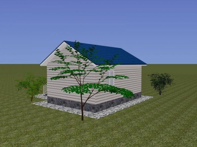 Проект дома-374