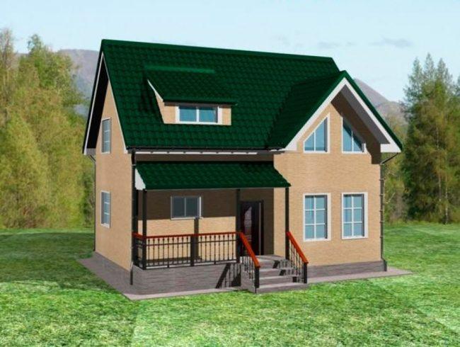 Проект дома-379