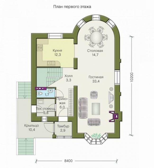 Проект дома-442