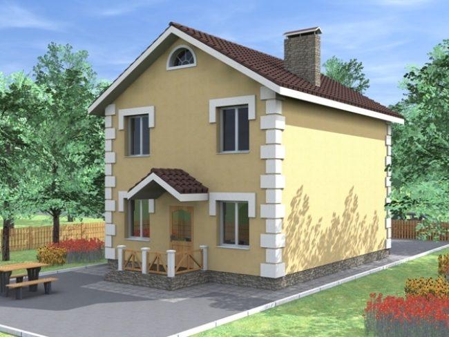 Проект дома-17