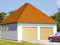 Проект гаража-157