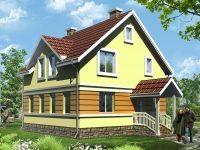 Проект дома-651