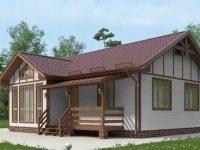 Проект дома-607