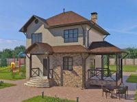 Проект дома-593