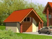 Проект гаража-70