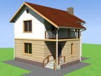 Проект дома-595