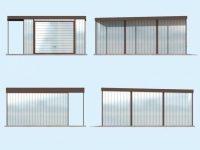 Проект гаража-54