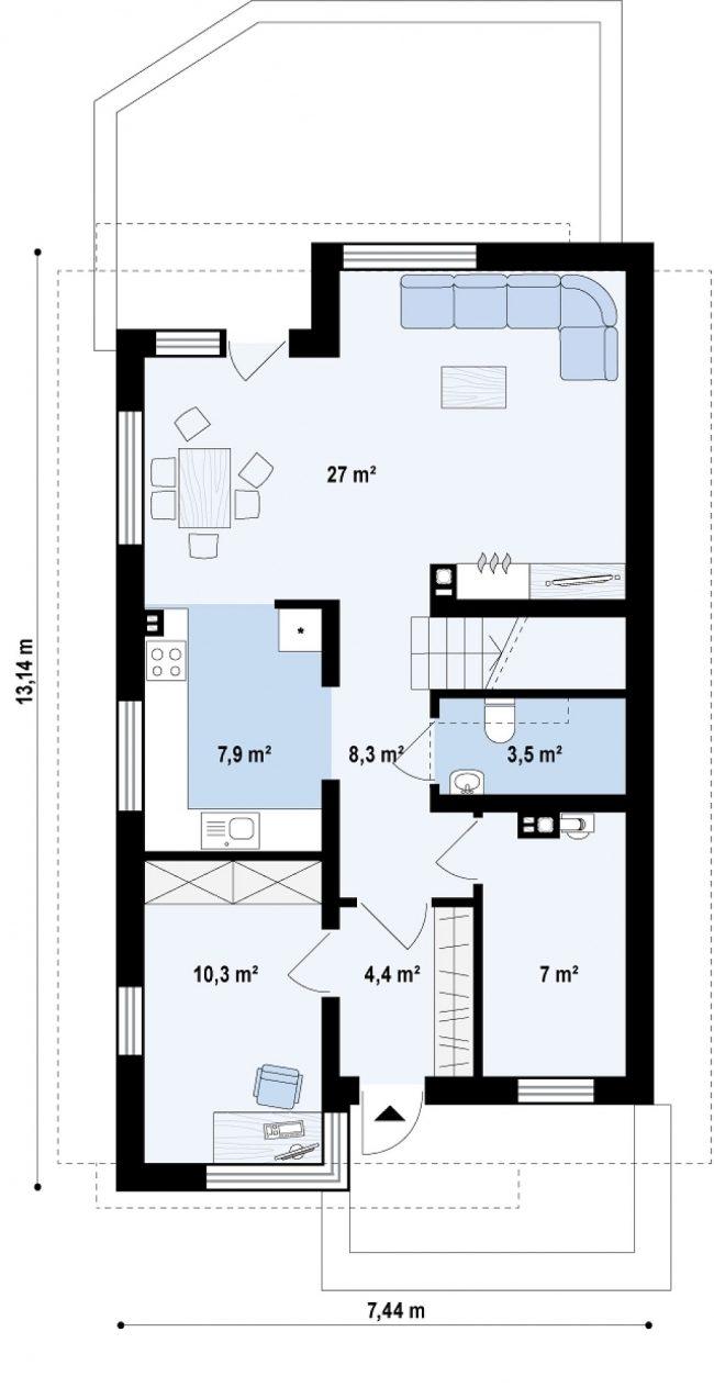 Проект дома-271