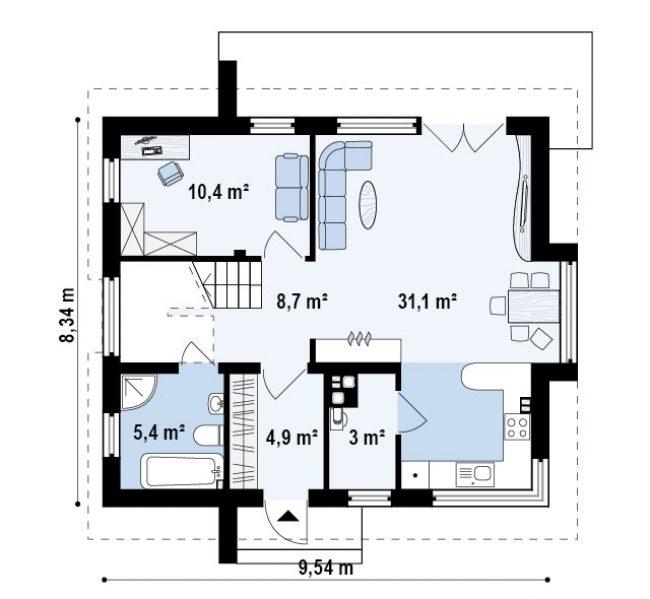 Проект дома-28